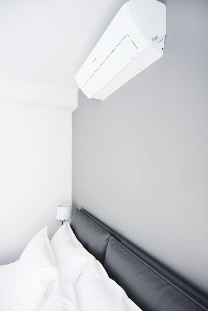 tutte le camere da letto sono dotate di aria condizionata