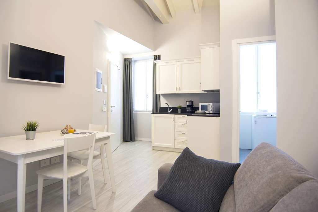 small but cozy living room in iseo
