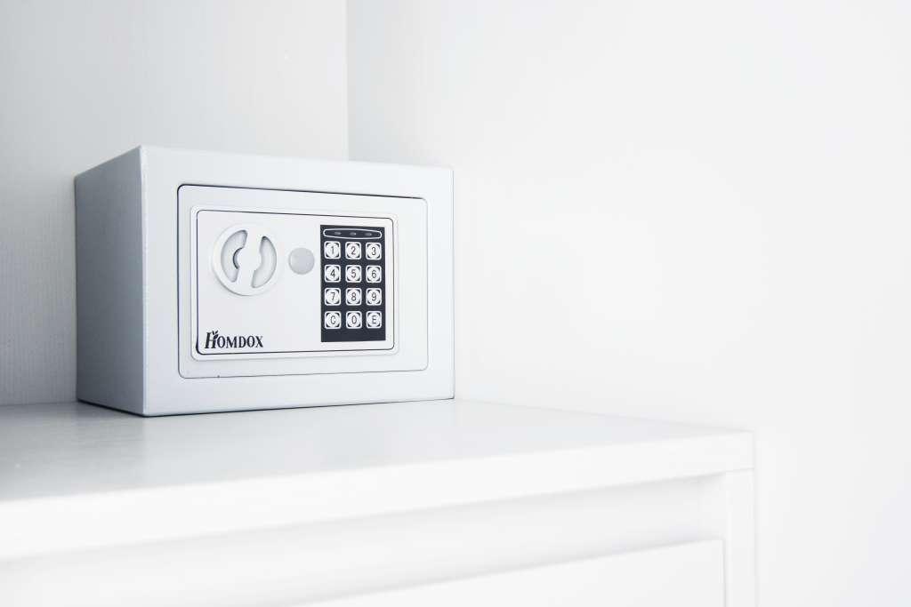 cassaforte disponibile in tutti gli appartamenti