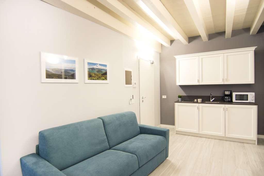il nostro appartamento per famiglie sul lago d'iseo