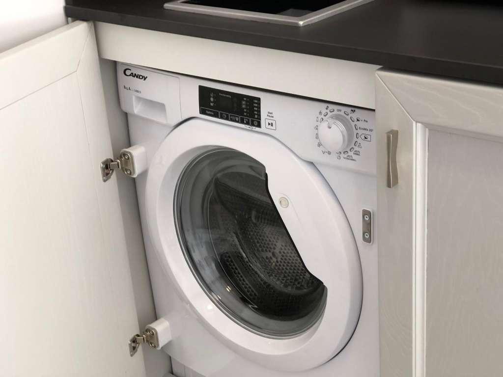 lavatrice in ogni appartamento
